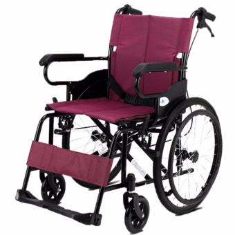 WC3000 Heavy Duty Wheelchair (Maroon)