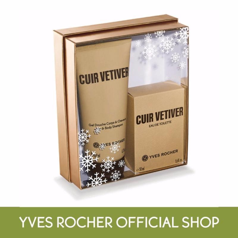 Buy Yves Rocher Cuir Vetiver Eau de Toilette Set (Special Price) Singapore