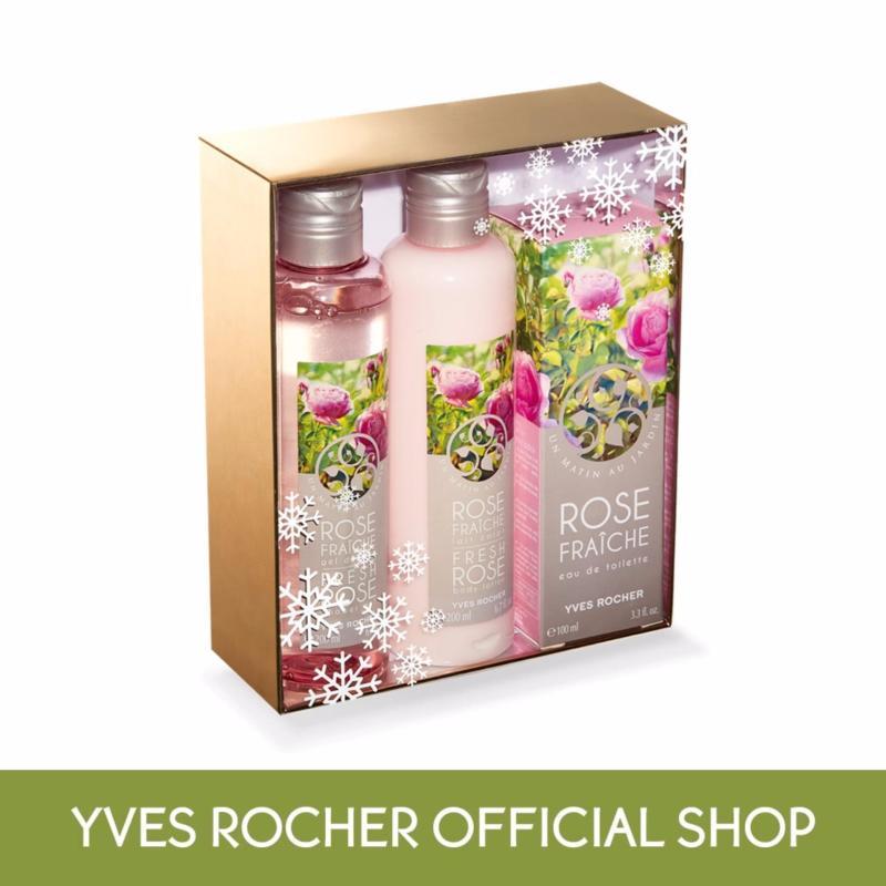 Buy Yves Rocher Fresh Rose Eau de Toilette Set (Special Price) Singapore