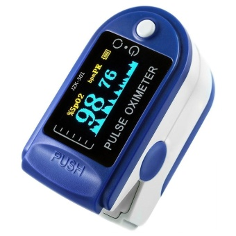 ZZOOI Finger Pulse Oximeter Finger Oxygen Meter With Pulse Rate Monitor - intl