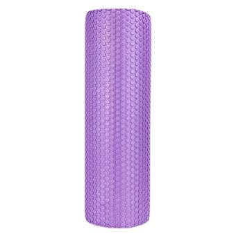 45x15cm EVA Foam Roller Yoga Pilates with Massage FloatingPoints(purple) - intl
