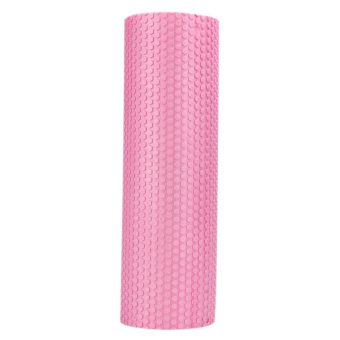 45x15cm EVA Foam Roller Yoga with Massage Floating Points (Pink) -intl