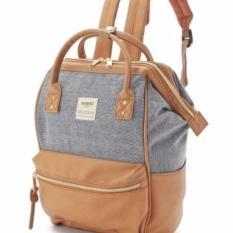 Anello X The Emporium Backpack - Blue + Pu Khaki