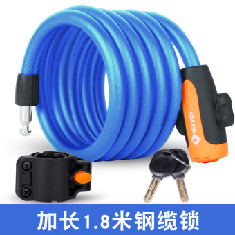 Anti-theft lock riding bicycle lock mountain bike lock