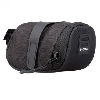 Bicycle Bike Waterproof Storage Saddle Bag Seat Cycling Tail RearPouch - intl