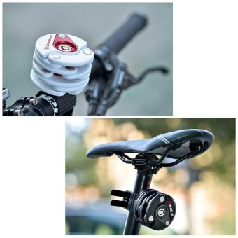 Bicycle Lock Anti-Theft Chain Hamburg-Lock Mountain Foldable Bicycle Lock - intl