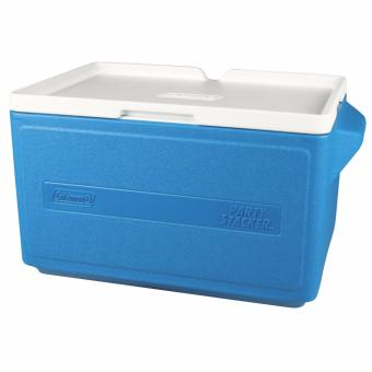 Coleman 48 Cans Party Stacker(TM) Outdoor Picnic Beach Cooler Box(Blue)