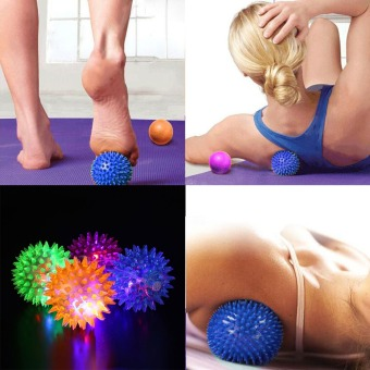 Foot Body Spiky Massage Ball Point Fitness Hand Foot Pain Relief6.5cm