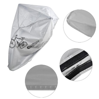 High Quality Outdoor Scooter Bike Motorcycle Rain Dust Cover Waterproof Protector for Bicycle Cycling - intl