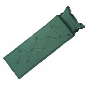 igogo Outdoor Camping Thick Automatic Inflatable Mattress Self-Inflating Tent Mat Picnic Mat with Pillow - intl