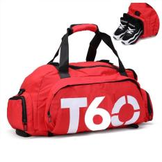 New Waterproof Unisex Gym Bag With Separate Space For Shoes - Intl