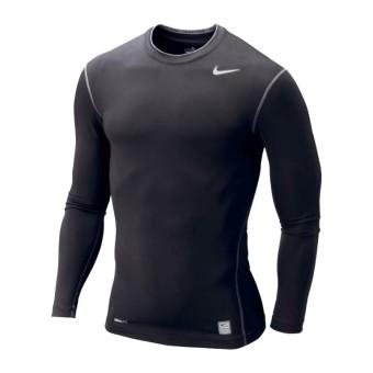 Nike Mens Pro Combat Compression Long Sleeve Shirt Black
