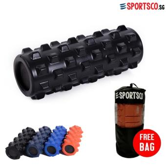 SPORTSCO Rumble Foam Roller (Black) (SG)