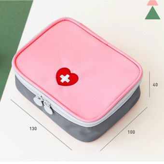 Travel medicine storage bag portable outdoor home emergency bag car first aid kit medicine bag small mini bag kits
