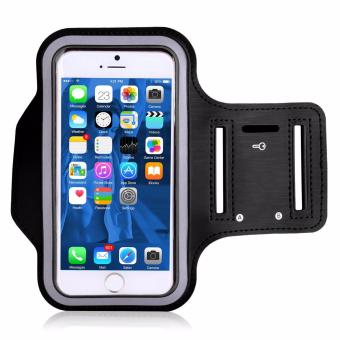 Universal Sports Gym Armband for iPhone 7/ 6/ 6S/ SE/ 5/ 5S/ 5C/ 4[Black]