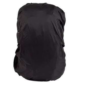 Waterproof Travel Camping Hiking Backpack Dust Rain Cover 30L-40L - Black (Intl)