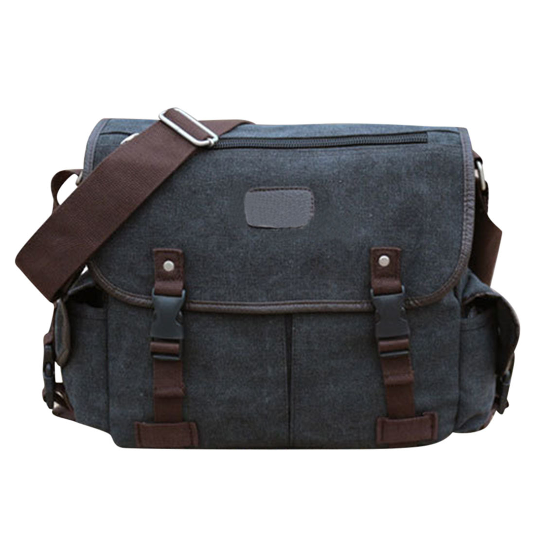 360DSC Popular Mens Casual Style Canvas Cross Body Bag Flip Over ...