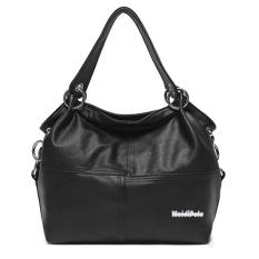 360DSC Women Stylish Leather Hobo Bags Shoulder Bag Handbag - Black - Intl