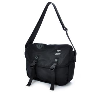 authentic anello messenger bag S size AT-B1622 - BLACK