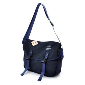 authentic anello messenger bag S size AT-B1622 - NAVY color