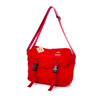 authentic anello messenger bag S size AT-B1622 - RED