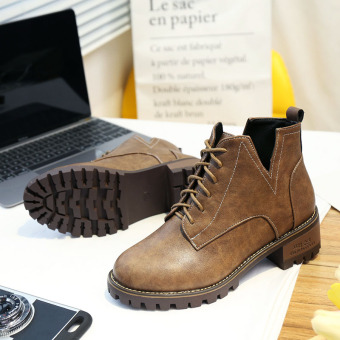 Autumn and Winter New style Martin boots (Brown)