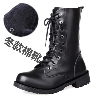 British female boots Martin boots (Winter style cotton boots)