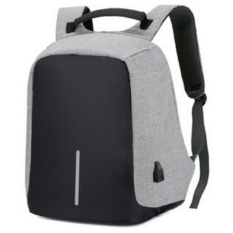 BYL anti-theft backpack travel business laptop backpack (Gray)