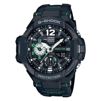 Casio G-Shock Gravity Master Series Men's Black Resin Strap Watch GA1100-1A3