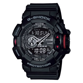 Casio G-Shock World-Popular Big Case Series GA400-1B GA-400-1B