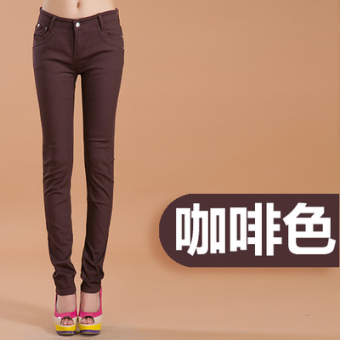 Casual candy stretch slimming pants women's pants (PARK'S color)
