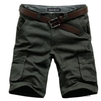 Casual cotton summer Plus-sized tooling shorts