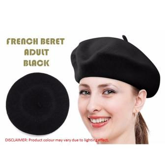 French beret adults black lazada singapore Coloring book for adults lazada