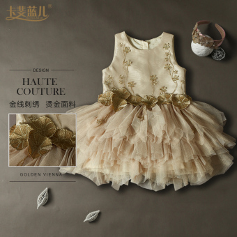 Halloween's day girls baby dress princess dress