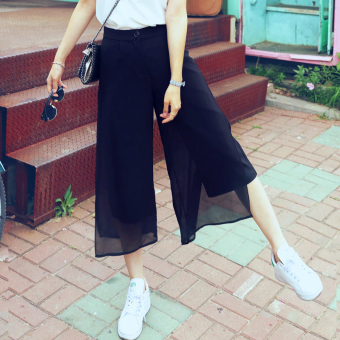 HSTYLE gy6000 Korean-style New style side slimming casual pants