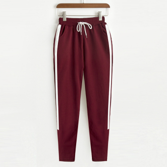 I New style casual straight pants (Red Wine)