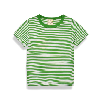 Korean-style boy's short sleeved New style T-shirt (Green) (Green)