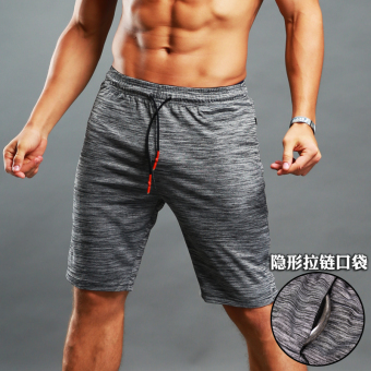 Korean-style fitness male sports shorts five pants