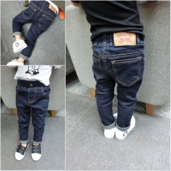 Korean-style New style children's Slim fit baby casual pants boy's denim pants