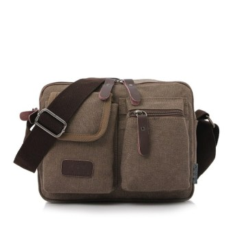 Korean-style New style multi-function men's bag (Coffee color) (Coffee color)