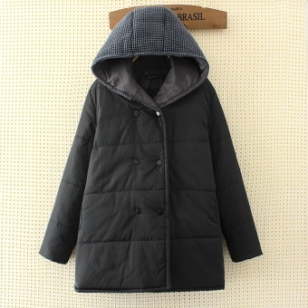 Mm200 large hooded warm jacket Women's coat