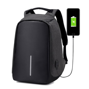 New Casual USB Charge Anti-theft Laptop Bag School Travel Computer Backpack - intl