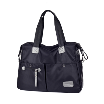 Nylon waterproof Oxford Cloth Bag New style women's bag (Small black) (Small black)