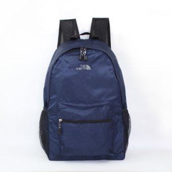Outdoor travel ultra-light ultra-thin travel backpack (Dark blue color)
