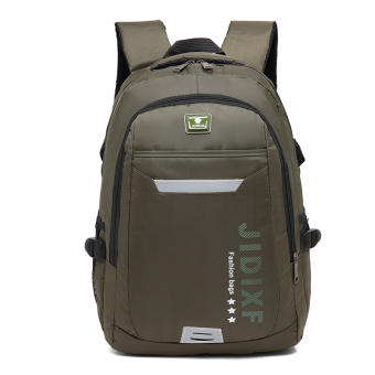 SHENGXILU outdoor travel shoulder bag hiking bag (Dark Green)