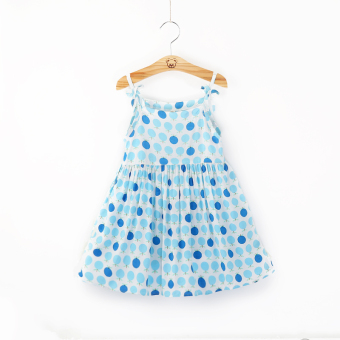 Suihua Korean-style new girls skirt Tong Qun (Blue fruit)