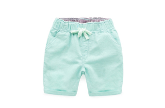 Versatile cotton children's shorts (Green hanni shorts)