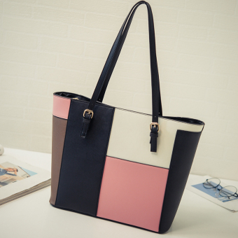 Women's Korean-style Simple Tote Bag (Pink color)