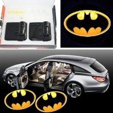 Superman No Drilling Source 2pcs Car Door Projector Welcome Lights For batman2 No .