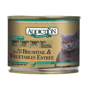 Addiction Brushtail & Vegetables Entre For Cats